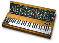 Microscopics MiniMoog Model 204D