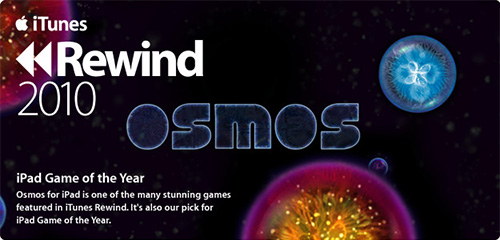Osmos, Apple's Game of the Year 2010